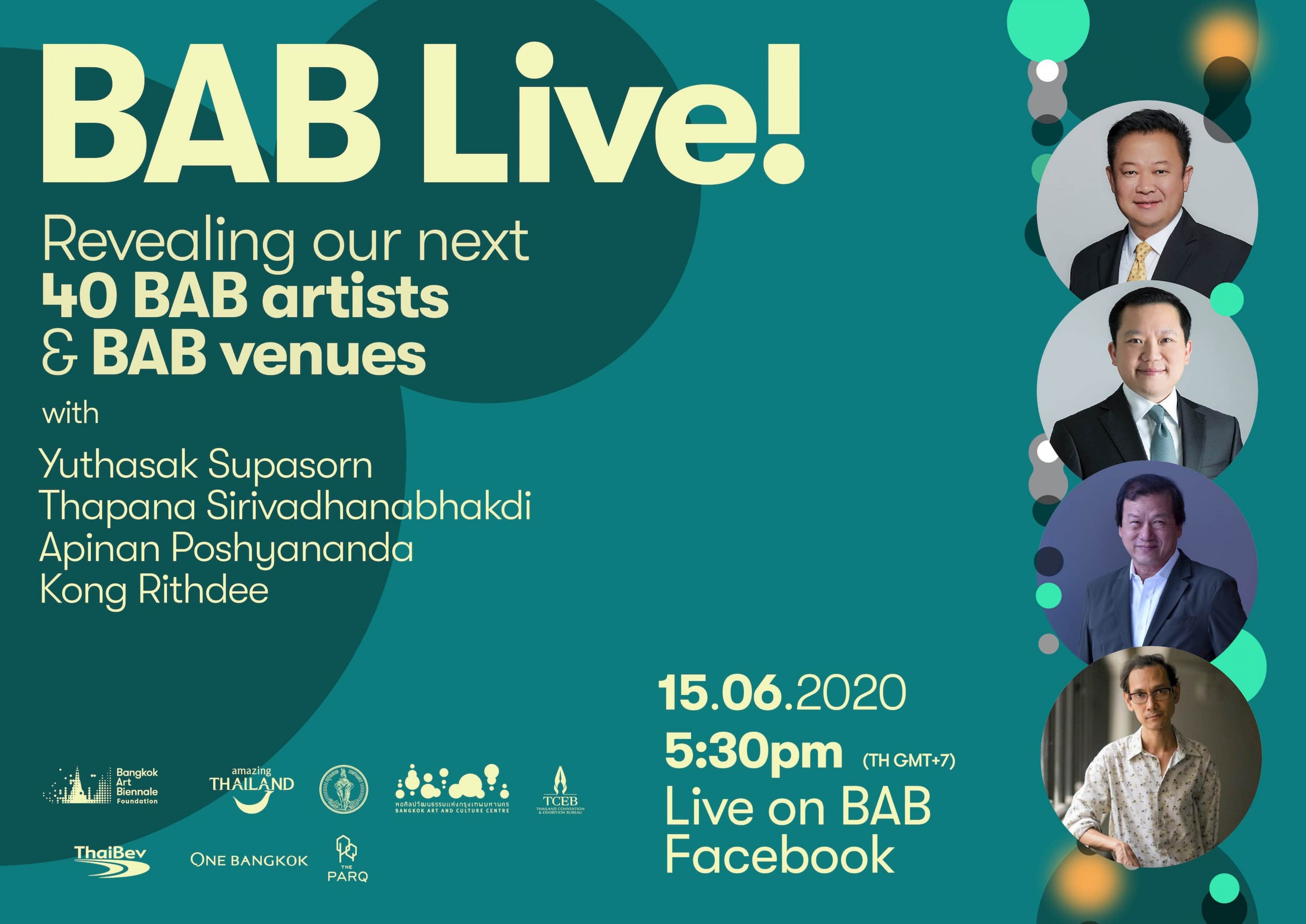 BAB Live! Revealing our next 40 BAB 2020 Artists & Venues