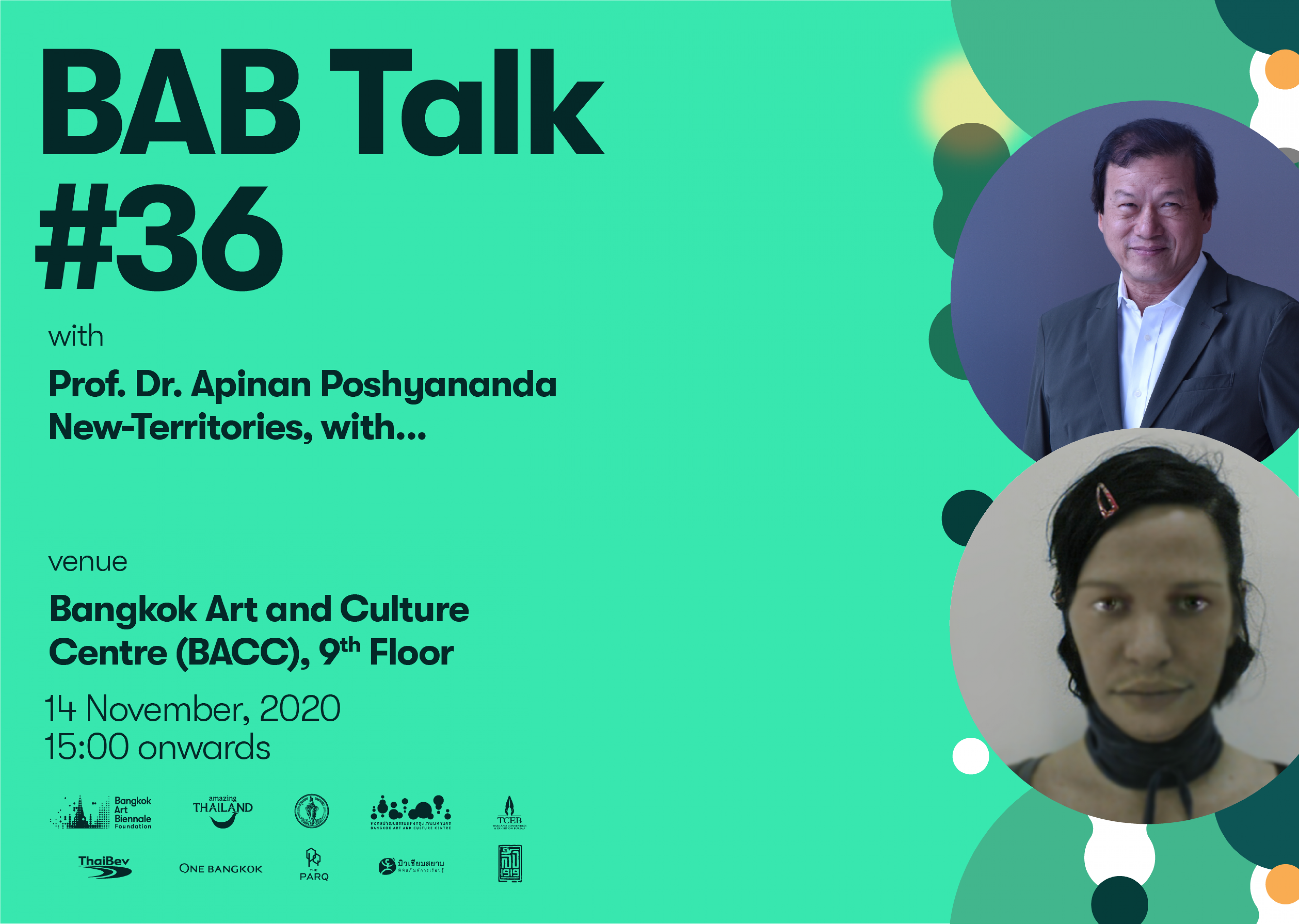 BAB Talk #36 with Apinan Poshyananda and New-Territories, with...
