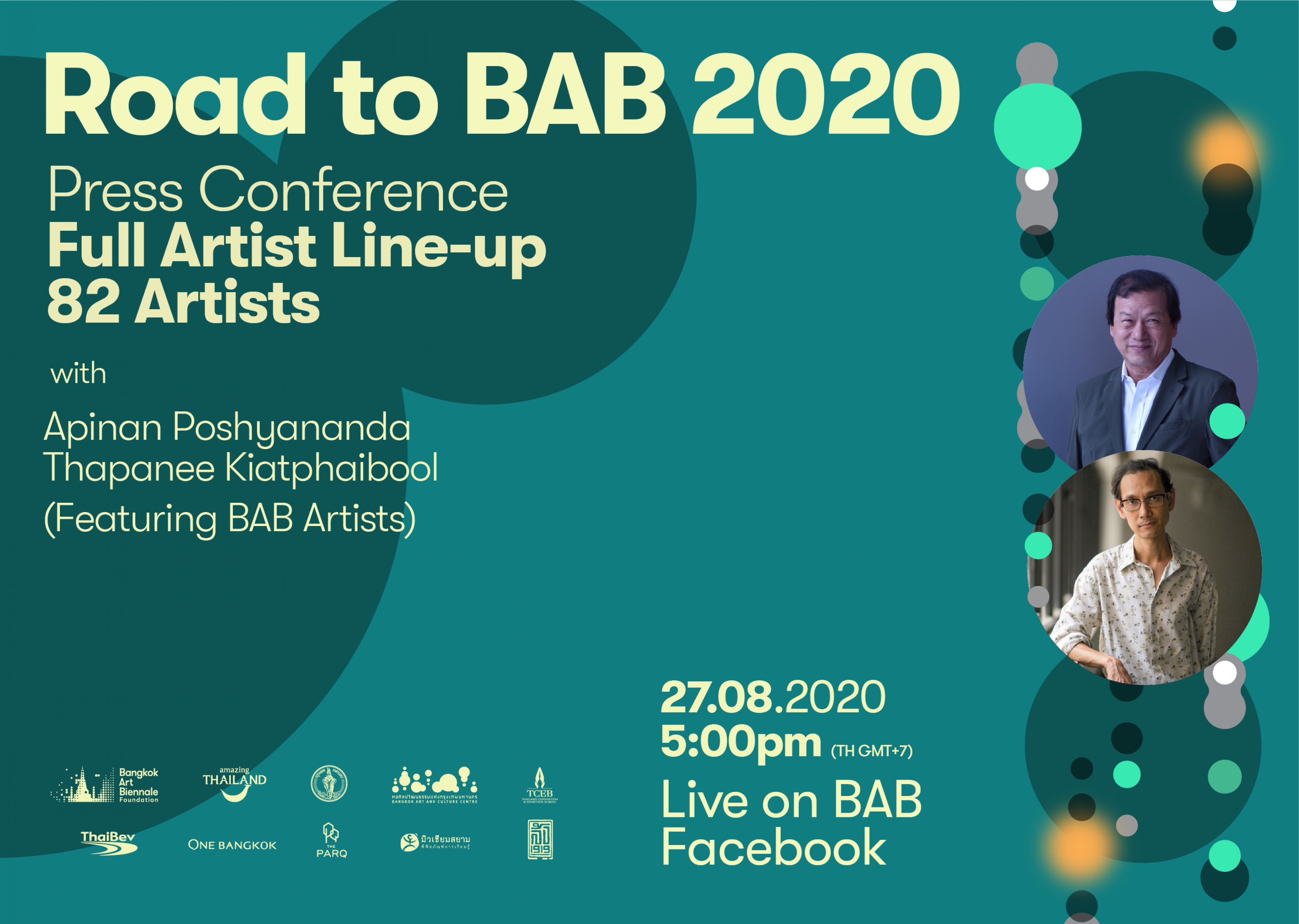 Road to BAB 2020 | Full Artist Line-up